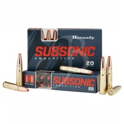 Cartucce Hornady Subsonic...